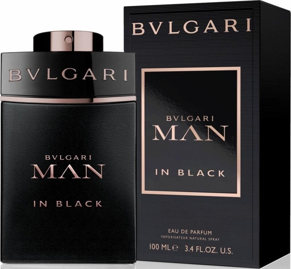 man in black bulgari profumo
